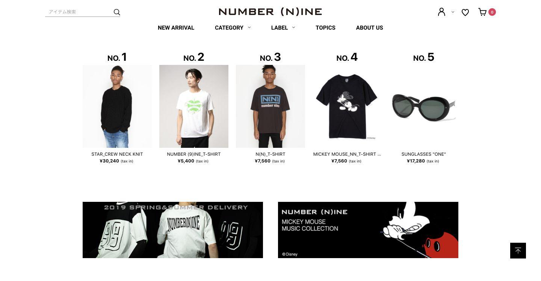 NUMBER(N)INE