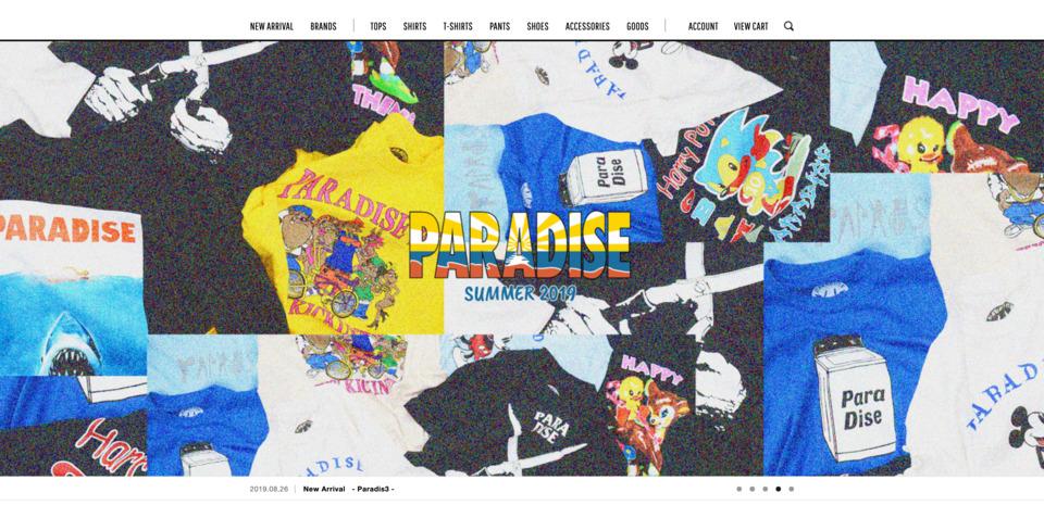 SUPPLY TOKYO online store